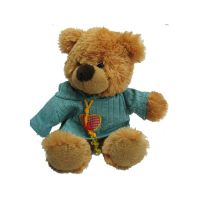 湖北毛绒玩具生产厂家短毛绒泰迪熊玩具加工礼品定制