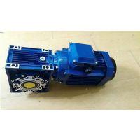 张家港饮料灌装生产线用RV063/40涡轮减速机匹配1.1KW方形电动机