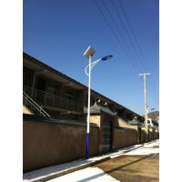 河北衡水6米30W太阳能路灯,LED灯具飞鸟太阳能