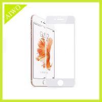 苹果iphone 7/7 puls 硅胶包边钢化玻璃膜 全覆盖钢化玻璃膜 3D膜