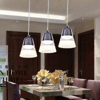 现代简约亚克力餐吊灯led餐厅灯吊灯创意灯具饭厅吧台 厂家直销