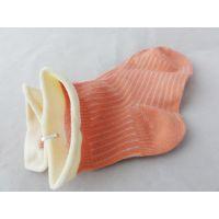 竹纤维袜子婴童袜天然彩棉袜子