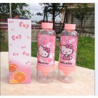 可爱卡通Hello Kitty大容量手动凯蒂猫成人柠檬榨汁杯
