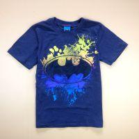 夏款童装 外贸原单尾货 男大童夏t恤 儿童蝙蝠侠短袖亲子装上衣