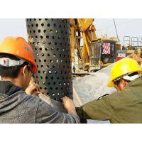 外径400mm降水管 螺旋降水井花管螺旋桥式滤水管 钢制专用打井管