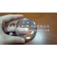 东莞诚卓光电厂家定制摩托车汽车灯用非球面带边缘光学玻璃平凸凹凸透镜