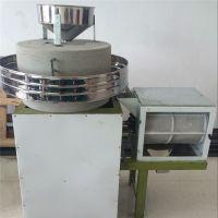 粮食加工设备面粉石磨机 小型电动面粉石磨 鼎信厂家