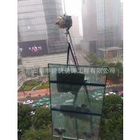 吊大板玻璃安装