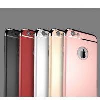 苹果iPhone5/5 plus外壳 三件套全包保护壳 电镀头手机套硬壳