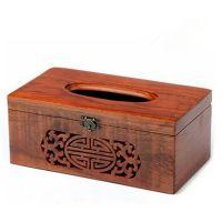 【古迹印象】越南红木高档雕刻抽纸盒创意家居多功能收纳盒纸巾盒