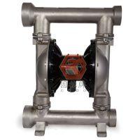 供应东莞地区污水处理气动隔膜泵(QBY3-80PFFF)