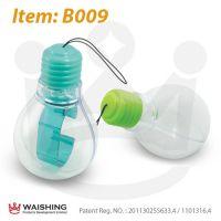 B009灯炮形包装盒 灯泡塑胶透明手表盒 正品有注册专利证书
