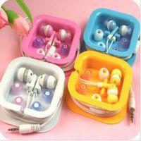 厂家批发方盒苹果耳机 小苹果小耳机 小苹果MP3耳机 入耳式耳机