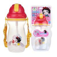 多乐欣迪士尼儿童魔术学饮杯PB-007T背带吸管杯防漏幼儿水瓶