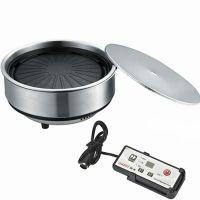 供应韩式商用电烤炉烤肉盘节能烧烤炉无烟不粘电烤炉可家用圆形包邮