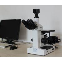【山东济南金相显微镜4XC三目倒置金相显微镜】厂家现货