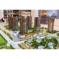 深圳品筑模型设计 宏发世纪 近观中心园林,远眺羊台山境。
