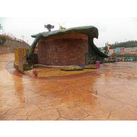 太原小区路面彩色混凝土压花地坪 找上海亚石公司专业施工