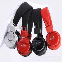 NIA正品8809无线插卡耳机 头戴式MP3耳机 头戴式插卡FM耳机