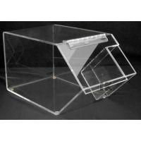 亚克力食品展示盒 亚克力展示盒 有机玻璃蛋糕架 亚克力展示柜