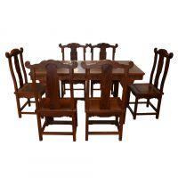 【东煌古典家具】直销 古典明清仿古家具平餐桌7件套