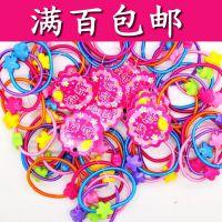 韩国糖果色儿童发圈 韩版迷你小头绳发饰头饰 一串5条 2元店产品