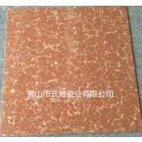 超耐磨地砖 800*800抛光砖 红色普拉提地面砖 佛山瓷砖厂家 推广