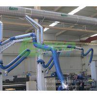 供应加长延伸吸气臂 抽排工业配备 排烟净化设备