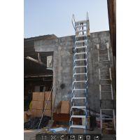 西安艾达折叠伸缩楼梯、室内外升降壁挂梯、别墅复式阁楼楼梯