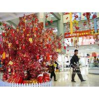 郑州枫林园艺厂家大量供应仿真桃花树商场房地产广场造景树室外专用装饰树