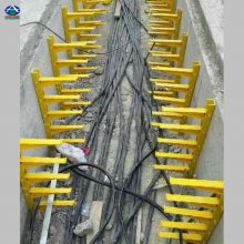 玻璃钢电缆支架590预埋式价格 SMC复合电缆支架厂家 六强版