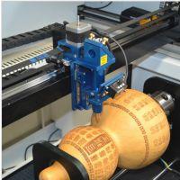 恒山激光 笔筒360度旋转雕刻 激光雕刻机 DIY工艺品加工 木刻画机器
