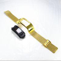 德利鑫 DLXZZ 适用于台湾品牌手环米兰金属表带 18mm 运动跑步计步器配件定制厂家