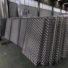 型材铝方通格栅_铝型材三角格栅_欧百得
