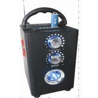 超流行插卡木质音箱