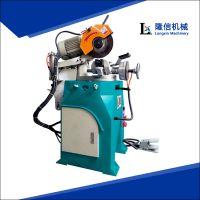 半自动简易切管机液压油管切割机隆信机械专业生产销售