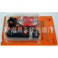 YJ-5灯套装9灯款自行车灯,5LED塑料自行车前灯,特价5LED后车灯