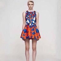 2015春夏新款欧美女装背心裙 欧洲站高端中长款品牌连衣裙
