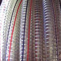 厂家直销 食品级钢丝软管 PVC透明钢丝防静电软管