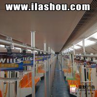 上海地铁1-4号全线地铁拉手广告