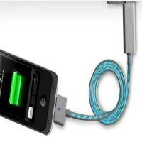 厂家供应优质iphone发光线 苹果发光充电数据线 数据线厂家经销批