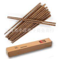 越南进口鸡翅木筷子 非一次性(10双装)木质环保餐具 带包装