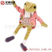 影视动漫 流行玩具 青蛙王子 儿童动物系列毛绒玩偶来图来样定做