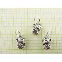 DIY手工银珠宝配件加工生产批发 珠宝首饰来图来样加工定制工厂