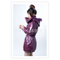 红豆2208 毛领收腰 腰带 2011红豆新款羽绒服 女式羽绒服 厂家 女