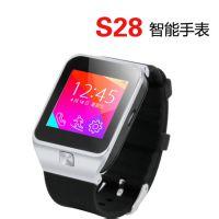 厂家2015 新款智能手表蓝牙手机智能穿戴插卡运动腕表安卓手表S28