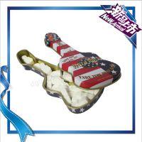 可定制吉他盒 潘朵拉巧克力糖果包装马口铁盒 吉他马口铁盒创意版