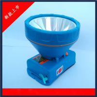工厂批发CREE XPE 锂电头灯正品高亮度可定制白光黄光10W价格特优