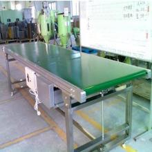 绿色pvc皮带输送机 倾斜装卸皮带机