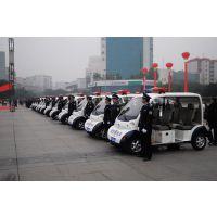 朗迈4座5座电动巡逻车M04-J,物业保安电动四轮车,高校电瓶治安电动车
